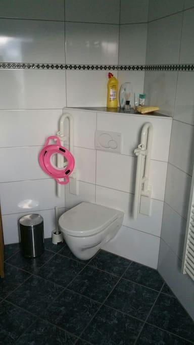 Behindertengerechtes Bad,Sitzring für kinder