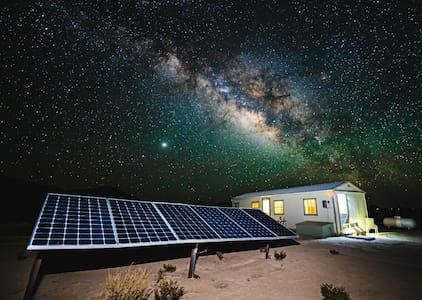 Wrens Nest Off Grid Cabin on Terlingua Ranch