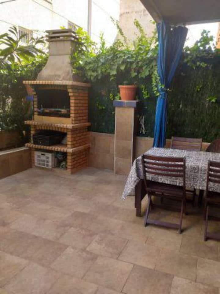 Apartamento grande en Cunit a 300m de la playa