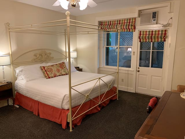 Room has comfortable king bed