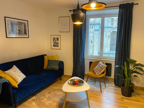 ⭐️ New ⭐️ Centre ville, Appartement Cosy 🦋