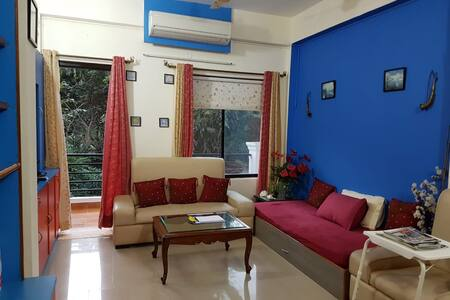 "Marvelous 2BHK Apartment Vagator - ""GoodTimez"""