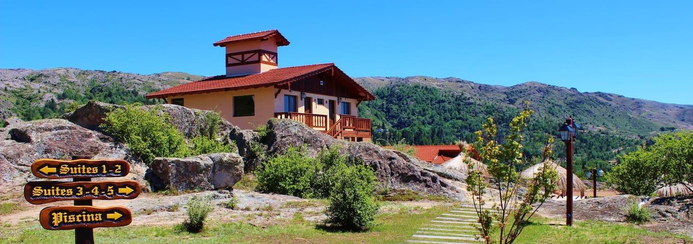 Suites para parejas en La Cumbrecita (Confort +)