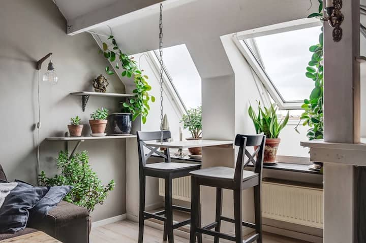 Cozy penthouse in heart of Karlstad
