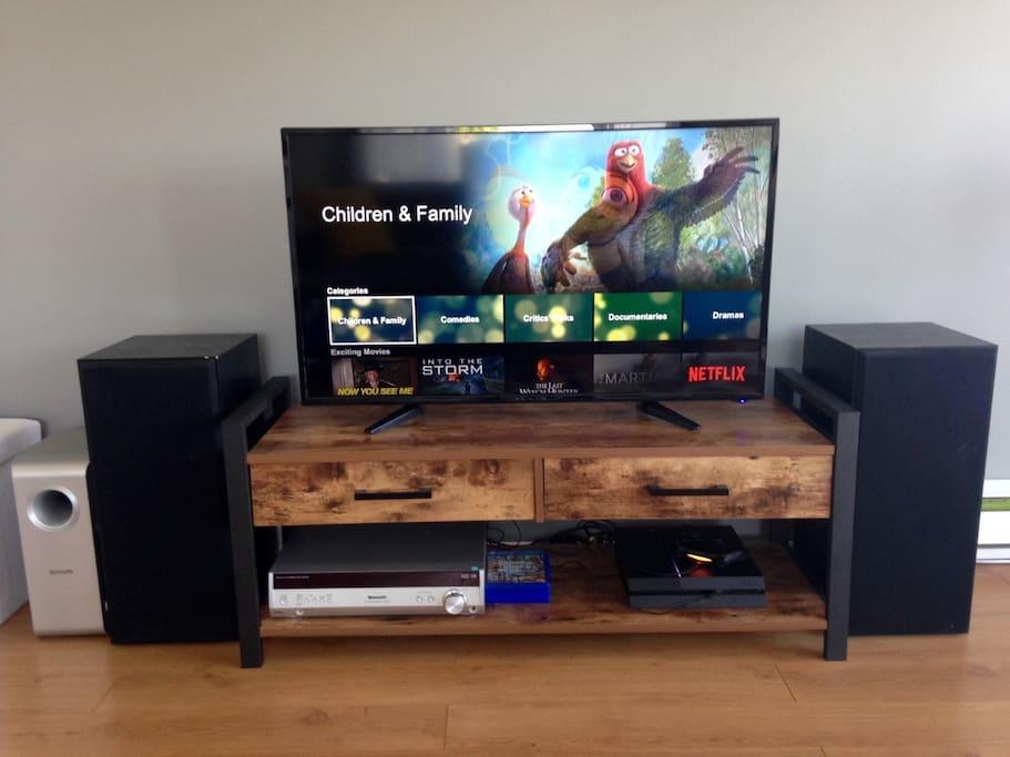 Télévision avec Netflix