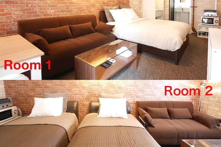 2Rooms/5beds/8PAX! 5min to Shinjuku High-grade #4