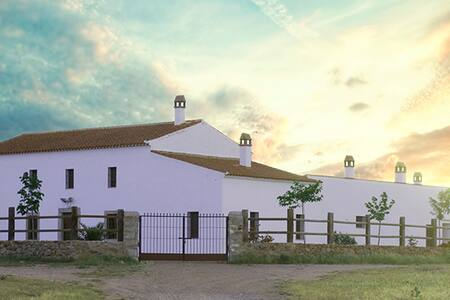 Cortijo La Panadera (Córdoba) - Pedroche - Haus