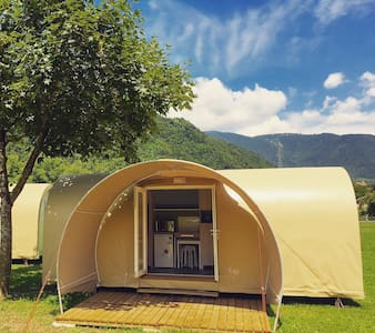 The smart and comfy tent in Arsié