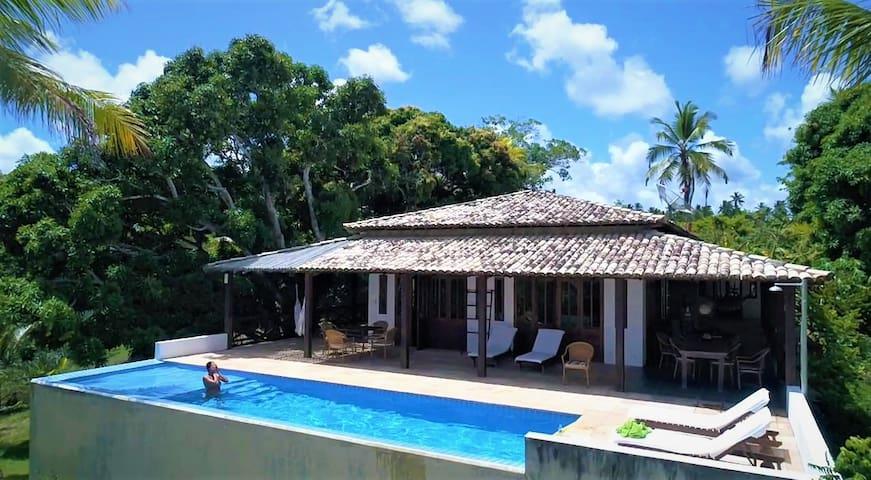 Casa Abacaxi comforto em natureza envolvente!