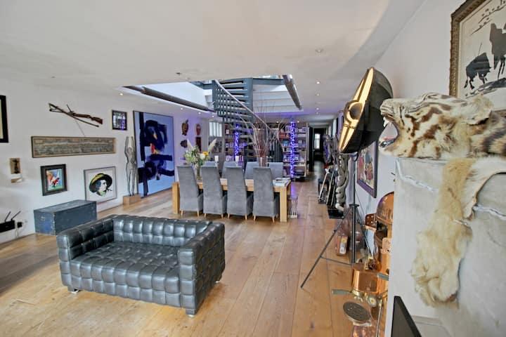 Magnificent|2level Penthouse-Loft| 280m|80mTerrace