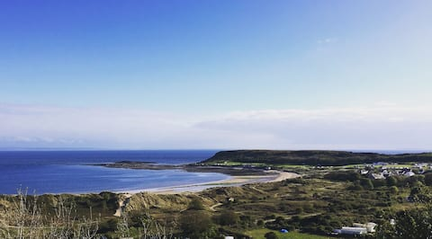 Coastal Cottage Annex in Horton, Gower - Sea views