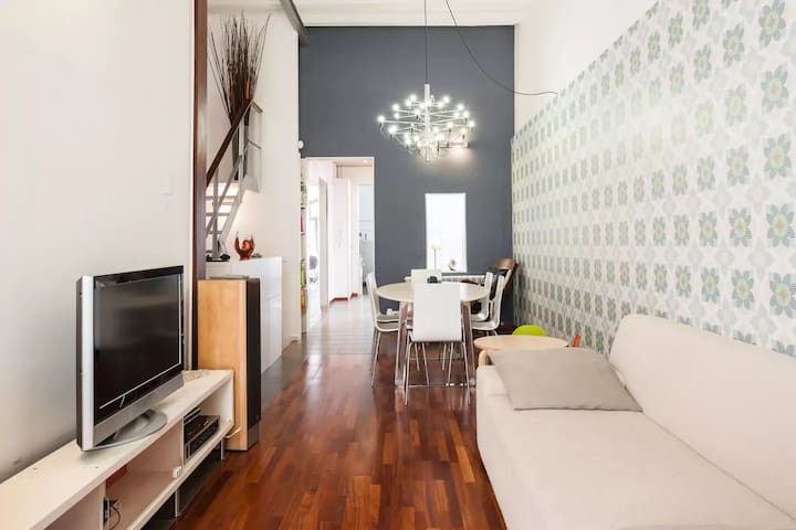 Rent 1 or 2 double rooms,duplex in Poble Sec