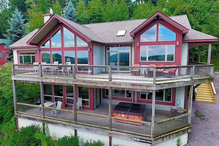 Rocky Mountain Lodge- Lake Access Home w/ Community Dock Slip