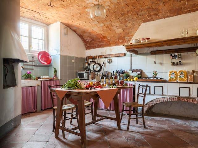 PALAZZO Retro Pool Awarded Vineyard - Bagnone - House