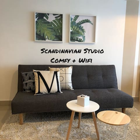 [NEW!!!] Scandinavian Style Studio | WIFI