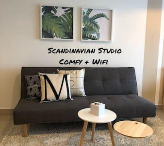 Travellers Scandinavian Studio | WIFI | 7-11