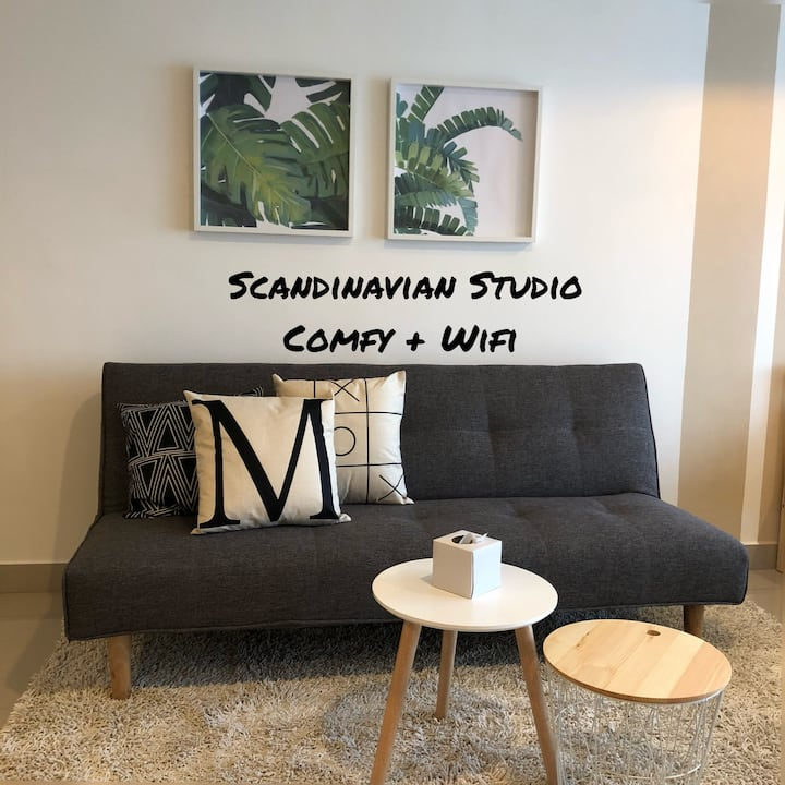 Travellers Scandinavian Studio | WIFI | 7-11