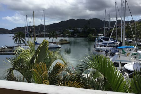 Kaneohe condo on the water - Kaneohe - Departamento