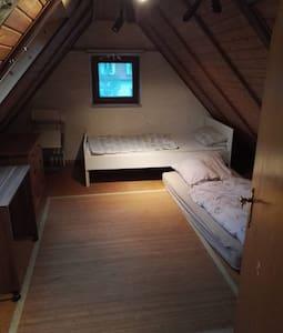 Viel Platz in guter Lage, Zimmer 2 - Bamberg - Talo