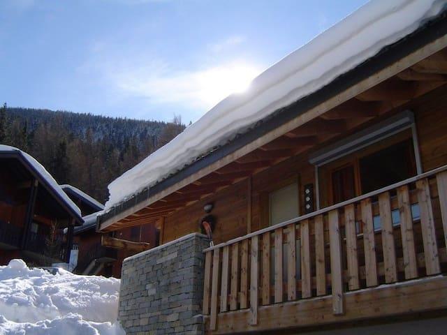 Chalet in de Franse Alpen ,