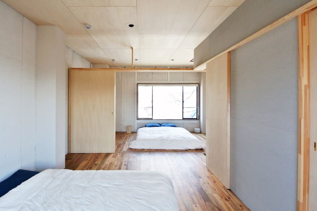Modern Japanese Bed rooms