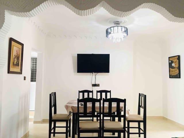 Appart charmant, spacieux et bien situé à Fnideq