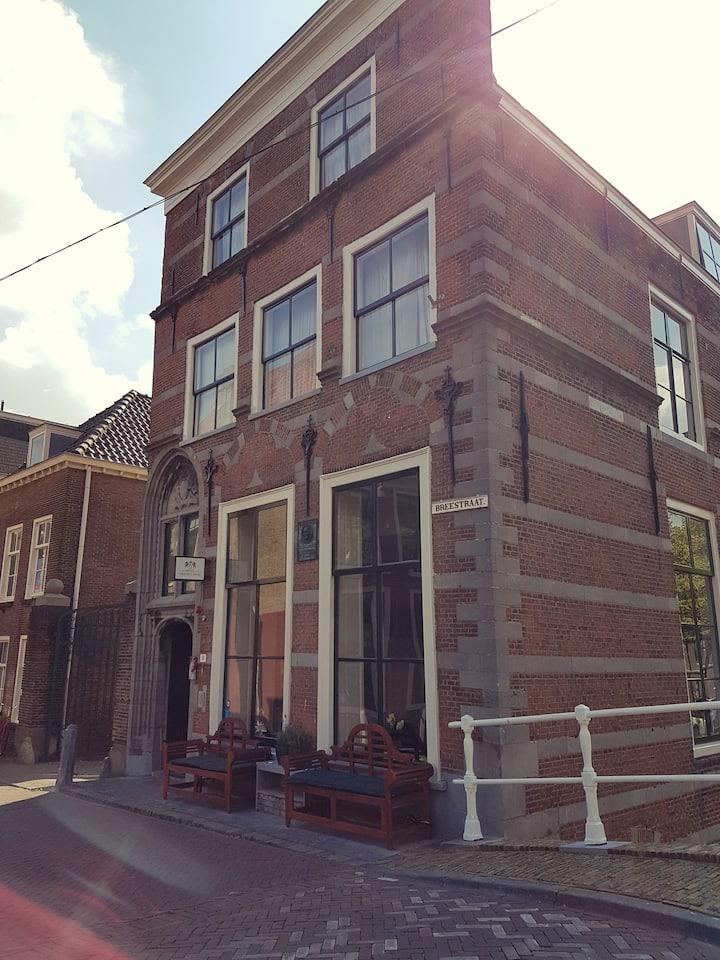 Knus familiehotel in het historische centrum Delft