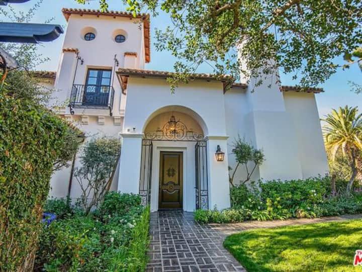 A. Exquisite Beverly Hills Spanish Villa