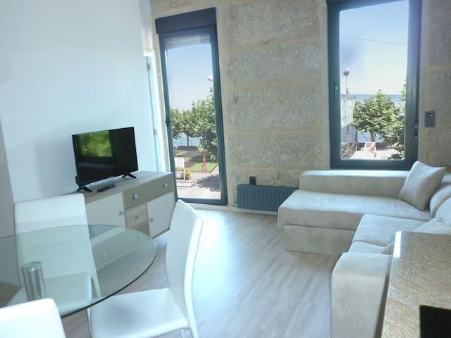 Precioso Apartamento  estrenar 1 Linea en la playa - Bueu