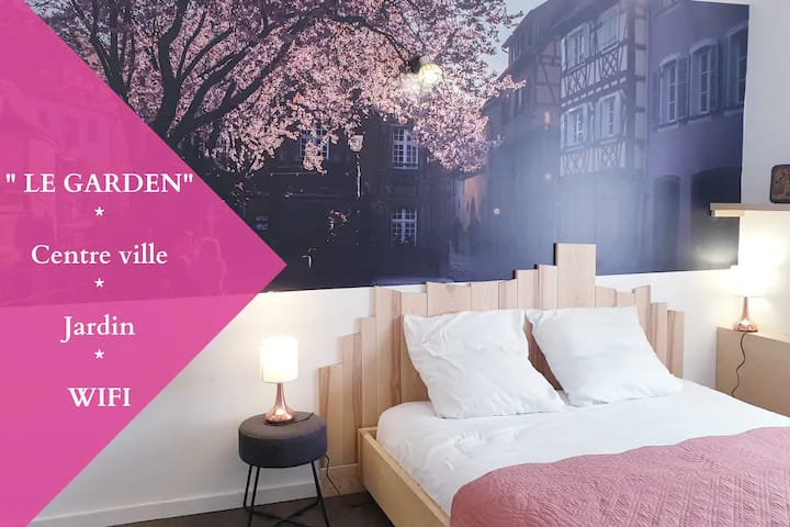★STUDIO-GARDEN★CENTRE-VILLE★MULHOUSE★CLEAN★