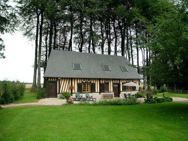 Traditional house in Normandy near the sea - Hattenville - Casa