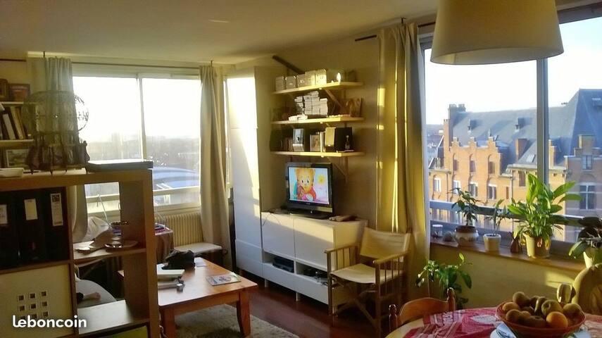 Appartement très lumineux et bien situé