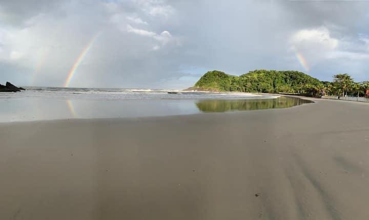 Flat em Condomínio beira mar na Praia do Engenho