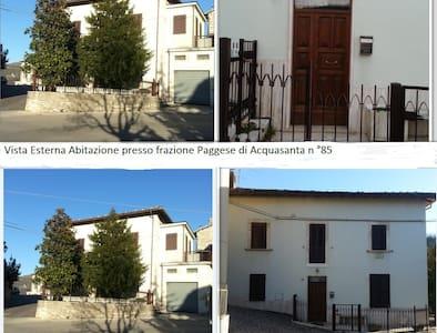 VILLA IN LOCALITA' TERMALE - Paggese-Santa Maria - บ้าน