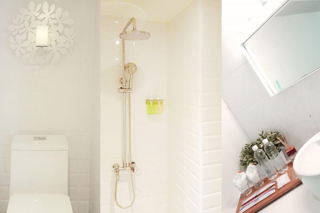 盥洗設備(乾濕分離)淋浴間1.5坪