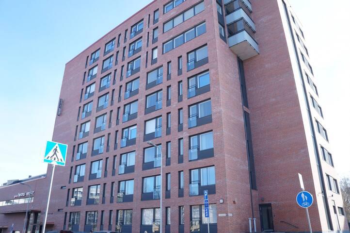 Studio apartment in Tampere, Puutarhakatu 37