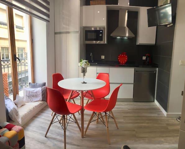 Apartamento de diseño céntrico a 5 min playa (1º)