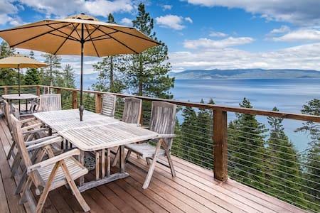 5BR/4BA Lake View Cabin - Tahoma