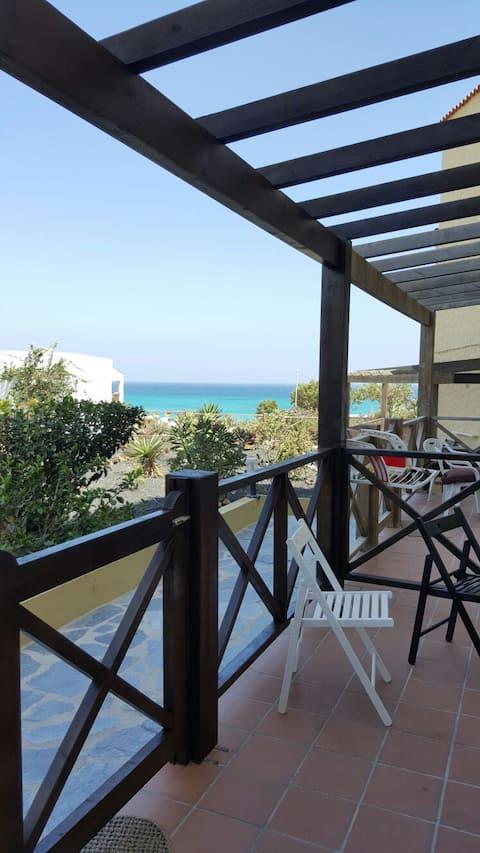 Apartamento Costa calma, a 20 metros de la playa