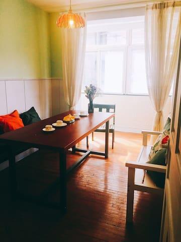 浪漫客厅兼餐厅
