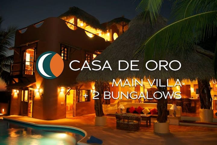 4 Bedroom Beachfront Villa in Troncones, Mexico