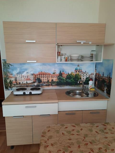 Квартира-студия   в новом микрорайоне Чебаркуля