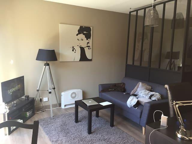 T1 bis chaleureux et calme - Toulouse - Apartamento