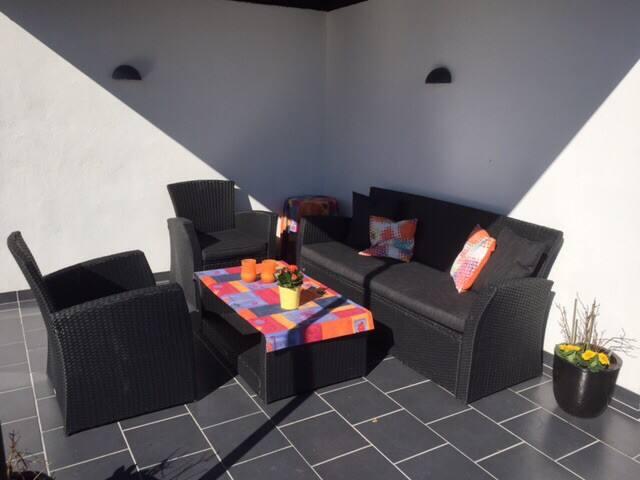 Sommerhus med super vandudsigt - Børkop - Cabin