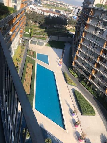 Residence Folkart Life Izmir swimming pool&sauna