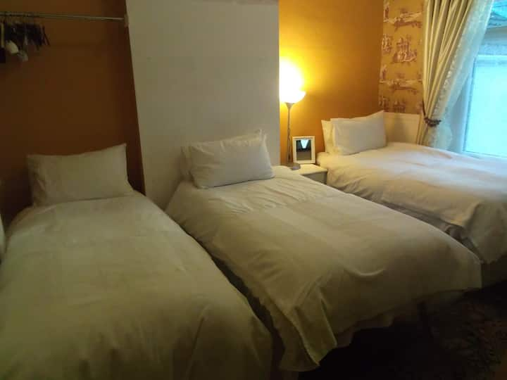 The Diff 1, 2 or 3 guest bedroom