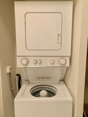 Washer and dryer for laundry
