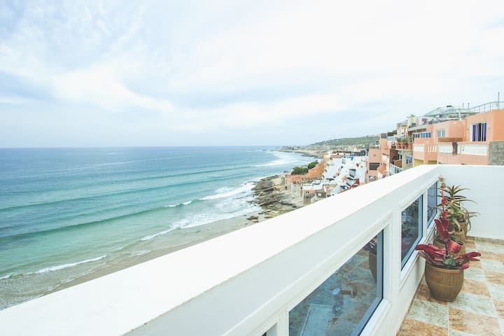 2 Bed Penthouse with Sea View - Taghazout - Apartment