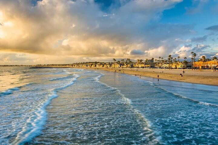 Beach vacation, Ocean, Sea, Walk, Surf, Explore