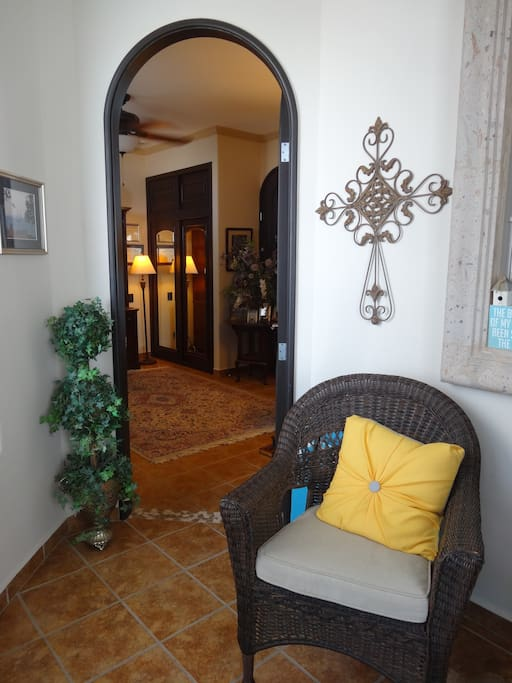 A beautiful atrium entry welcomes you to your accommodations.